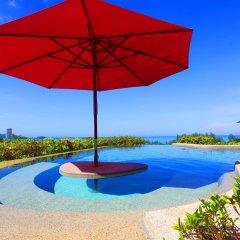 Отель Pacific Club Resort переливной бассейн