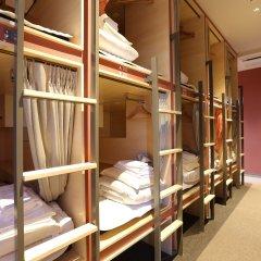 Hostel Spica Кровать в мужском общем номере