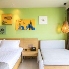 Отель Holiday Inn Resort Krabi Ao Nang Beach 4* Улучшенный номер с различными типами кроватей