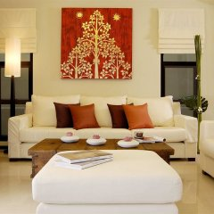 Отель Two Villas Holiday Oriental Style Layan Beach гостиная фото 3
