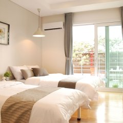 Отель The Mei Haus Hongdae 3* Номер категории Премиум с различными типами кроватей