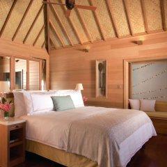 Отель Four Seasons Resort Bora Bora 5* Бунгало с различными типами кроватей фото 10