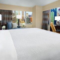Отель Crowne Plaza Times Square Manhattan 4* Стандартный номер с различными типами кроватей фото 8