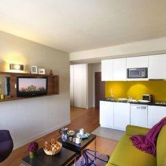 Отель Citadines Les Halles Paris гостиная