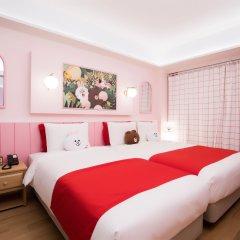 Отель Sotetsu Hotels The Splaisir Seoul Myeong-Dong 4* Люкс с различными типами кроватей