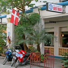 Отель Niku Guesthouse вход в здание
