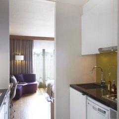 Отель Citadines Les Halles Paris мини-кухня в номере