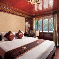 Отель Halong Legacy Legend Cruise 3* Номер Делюкс с различными типами кроватей