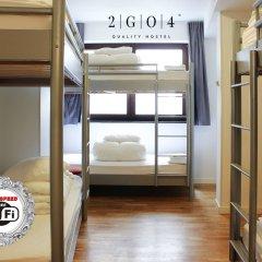 2GO4 Quality Hostel Grand Place Кровать в женском общем номере с двухъярусной кроватью