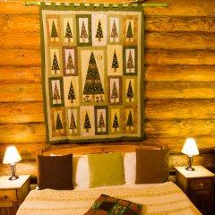 Гостевой дом Бобровая Долина Номер Кыз корка (Еловая изба) с различными типами кроватей