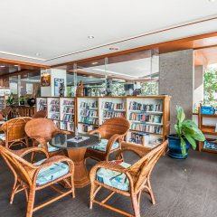 Andaman Beach Suites Hotel библиотека