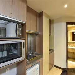 Апартаменты Bangtai International Apartment Номер Бизнес с различными типами кроватей