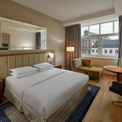 Отель Hilton Cologne 4* Стандартный номер разные типы кроватей фото 11