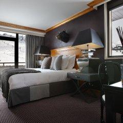 Отель Alpes Hôtel du Pralong 5* Номер Делюкс с различными типами кроватей