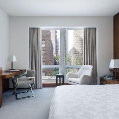 Отель The Langham, New York, Fifth Avenue Улучшенный номер с различными типами кроватей