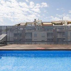 Hotel ILUNION Auditori открытый бассейн