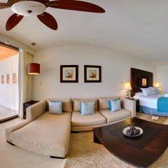 Отель Secrets Aura Cozumel - All Inclusive 4* Стандартный номер с различными типами кроватей фото 2