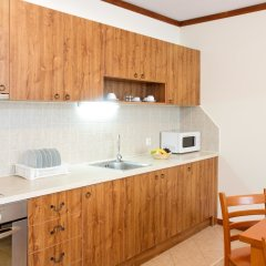 St. Ivan Rilski Hotel & Apartments кухня в номере