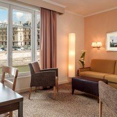 Отель Citadines Saint-Germain-des-Prés Paris комната для гостей