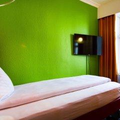 Отель Annex Copenhagen 2* Стандартный номер с различными типами кроватей (общая ванная комната)