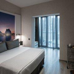 Отель Gran Via BCN 4* Улучшенный номер с различными типами кроватей