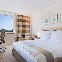 Отель Hilton Düsseldorf 5* Представительский номер разные типы кроватей фото 8