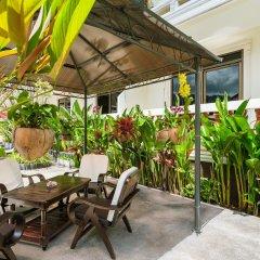 Отель Tropical Palm Resort Самуи крыльцо