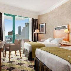 Отель Hilton Dubai Jumeirah 5* Представительский номер с различными типами кроватей фото 11