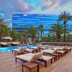 Отель Hard Rock Hotel & Casino Лас-Вегас открытая веранда