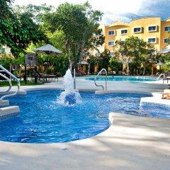Отель Courtyard By Marriott Cancun Airport фитнесс-зал фото 2