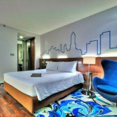 Отель Galleria 10 Sukhumvit Bangkok by Compass Hospitality 4* Номер Премьер с двуспальной кроватью
