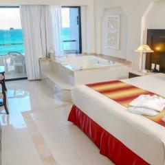 Отель Crown Paradise Club Cancun - Все включено Мексика, Канкун - 10 отзывов об отеле, цены и фото номеров - забронировать отель Crown Paradise Club Cancun - Все включено онлайн комната для гостей фото 5