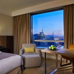 Отель Hyatt Regency Belgrade 5* Стандартный номер с различными типами кроватей
