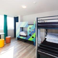 Отель A&O Prague Rhea 3* Стандартный номер с различными типами кроватей фото 2