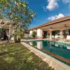 Отель Asia Baan 10 pool Villas 3* Вилла с различными типами кроватей