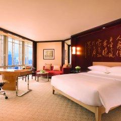 Отель Grand Hyatt Shanghai Номер Делюкс с различными типами кроватей фото 2