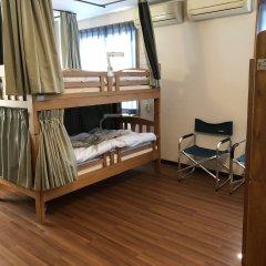 Mori no Kirameki Hostel Кровать в мужском общем номере