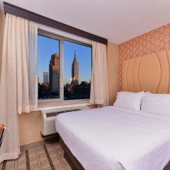 Отель Holiday Inn New York City - Times Square 3* Стандартный номер с различными типами кроватей фото 7