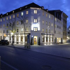 Hotel Blauer Bock фасад