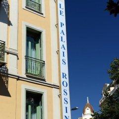 Отель Odalys City Nice Le Palais Rossini вид на фасад фото 2