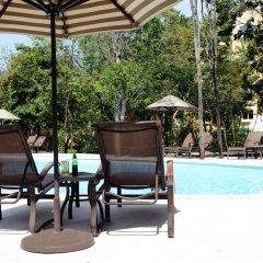 Отель Courtyard By Marriott Cancun Airport открытый бассейн