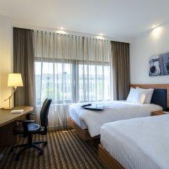 Отель Hampton by Hilton Amsterdam Airport Schiphol 3* Стандартный номер с 2 отдельными кроватями