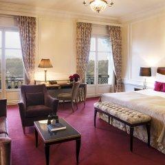 Hotel Bellevue Palace Bern 5* Номер Делюкс с различными типами кроватей