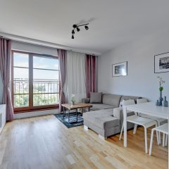 Апартаменты Downtown Apartments - Nowa Motlawa Апартаменты с двуспальной кроватью
