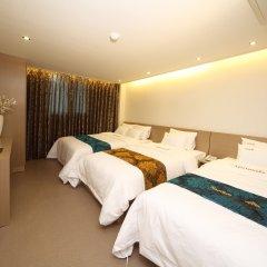 Namsan Hill Hotel 3* Стандартный семейный номер с двуспальной кроватью