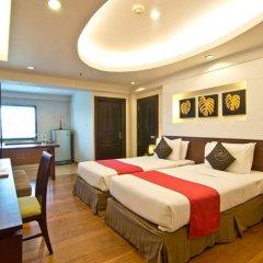 Golden Sea Pattaya Hotel 3* Студия Делюкс с различными типами кроватей