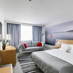 Отель Novotel Paris Centre Gare Montparnasse 4* Улучшенный номер с различными типами кроватей фото 2