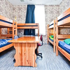 Хостел Наполеон Кровать в общем номере с двухъярусной кроватью фото 9
