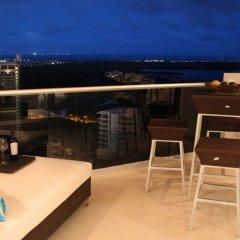Отель Suites Malecon Cancun балкон фото 2