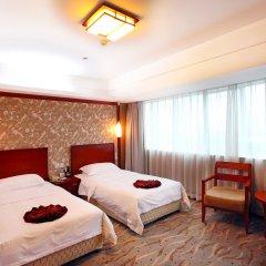 Central Hotel Jingmin 5* Улучшенный номер с 2 отдельными кроватями